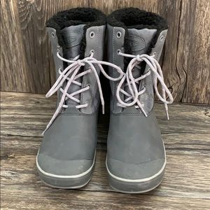 Keen Snowboots Gray Sz 8 Preowned